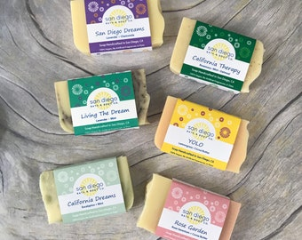 All Natural Soap Sampler Set
