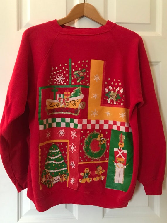New KIDS and  Ladies KNITTED RETRO NOVELTY XMAS JUMPER Vinatage In Plus Size