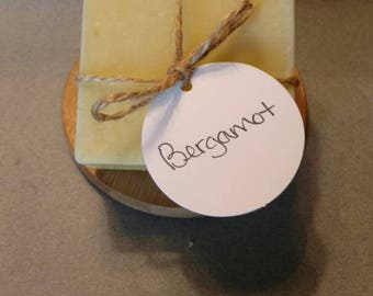Bergamot - Homemade Soap - Natural Soap - Essential Oil Soap - Cold Process Soap