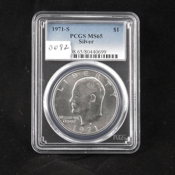 PCGS MS-65 *PRICE FOR ONE COIN ONLY* 1978 Eisenhower Ike BU Dollar Coin