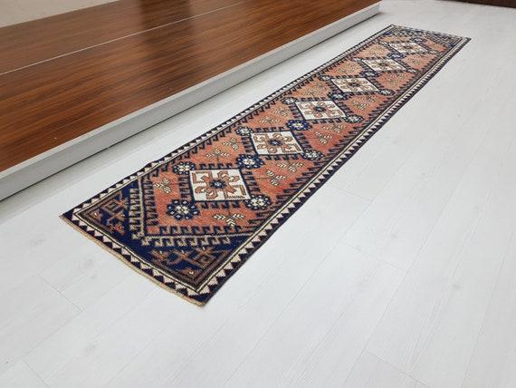 2\'x9\', schmale Läufer Teppich, Küche Teppich, Eingang Teppich, Flur Läufer  Teppich, Designer Teppich, weiche Farbe Farbe, türkische Läufer, Vintage ...