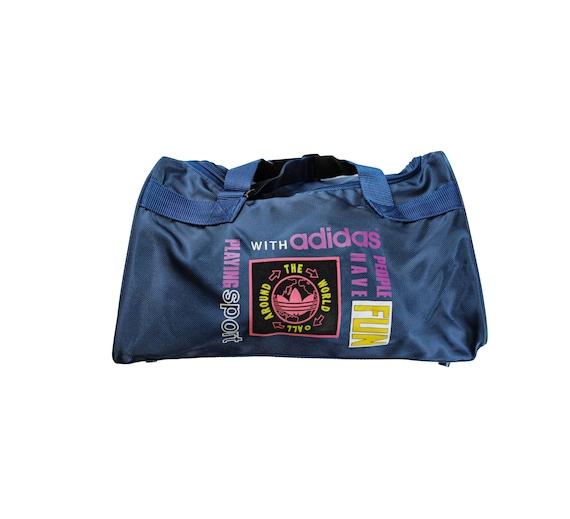 Vintage Adidas Holdall Duffel Bag