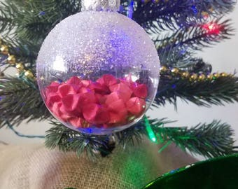 Red Lucky Stars Ornament