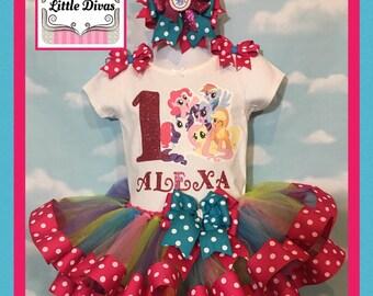 My little pony tutu,  my little pony birthday,  my little pony party, my little pony dress, my little pony