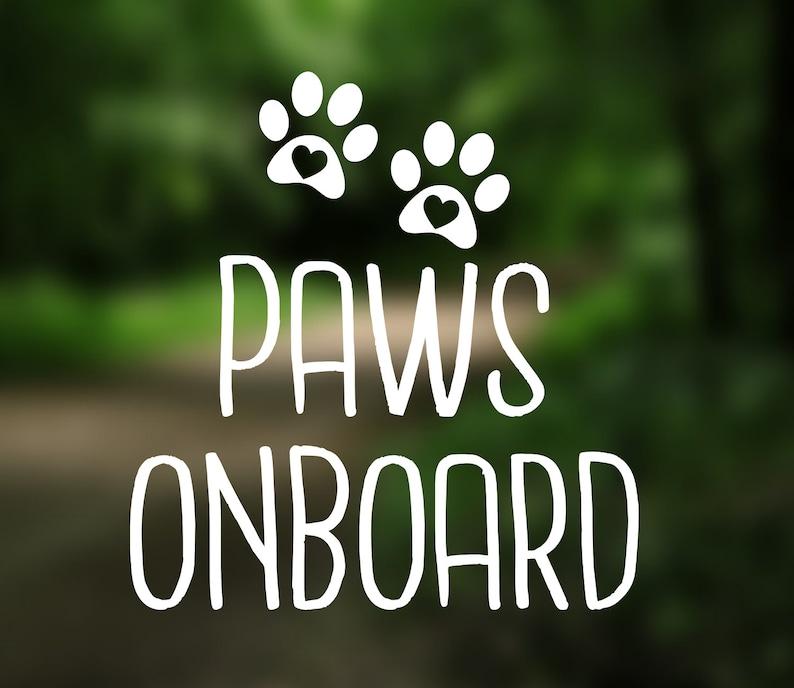 Adopt Paw Dog Mom Pet Fur Baby Foster Decal Vinyl Sticker for Car Window Bumper