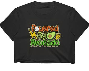 Powered By Avocado Women's Crop Top