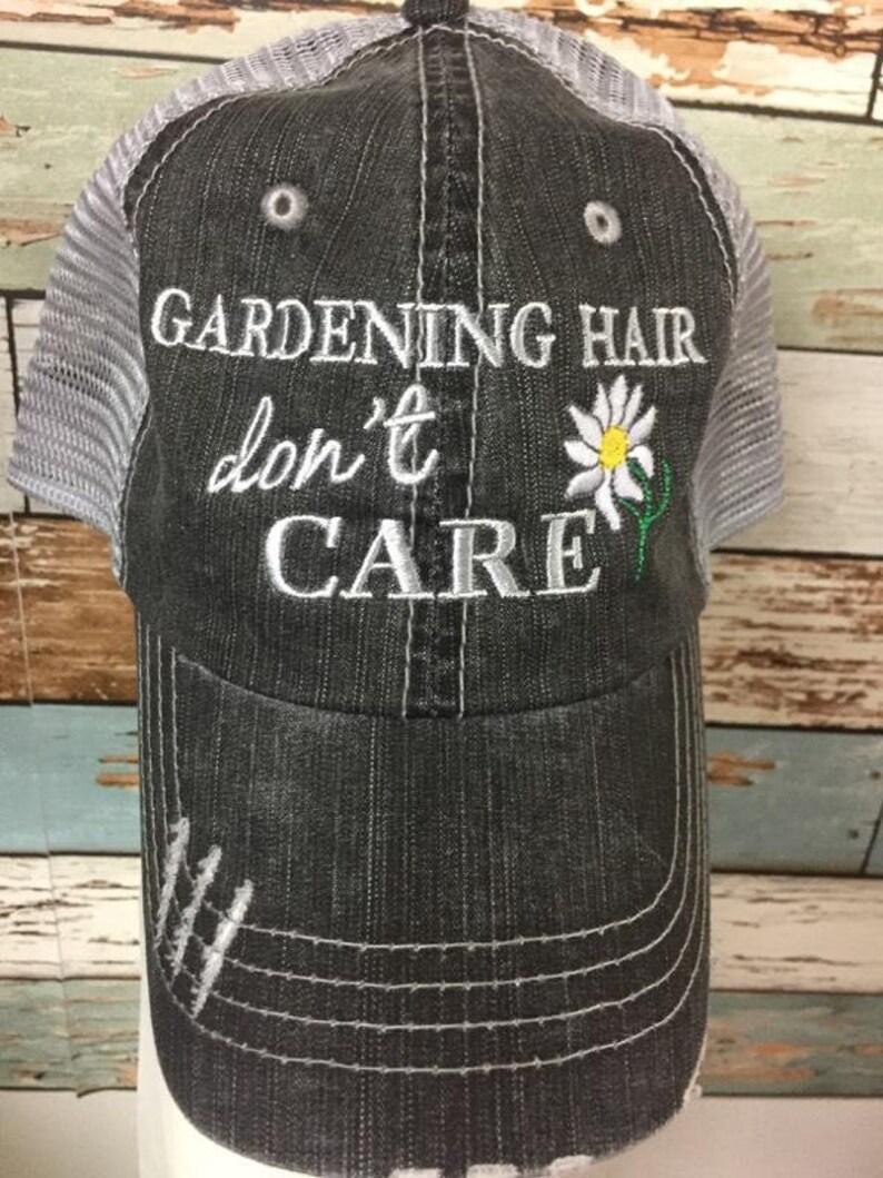 Gardening Hair Don/'t Care Hat