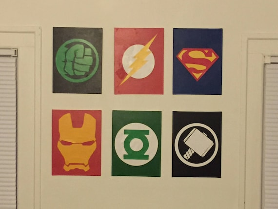 Superhero Wall Decor