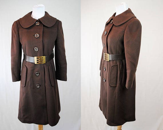 1970s Bloomingdale's Coat // Vintage Women's Dress