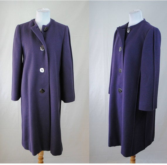 1980s Pauline Trigere Wool Coat // Vintage Wool Co