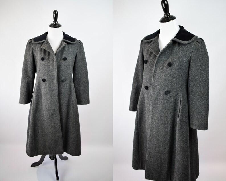 0ecc4a36a210 1970s Princess Dress Coat    70s Rothschild Wool Coat