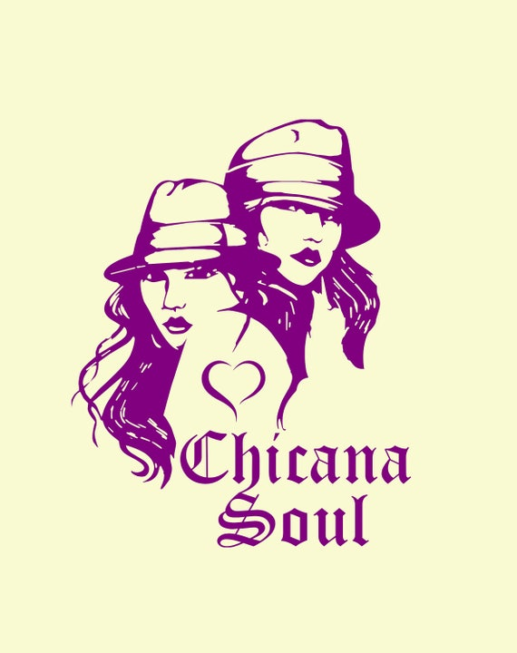 Chicana Auto Decal