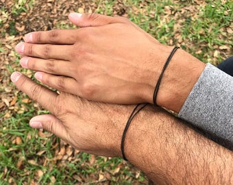 Indian Leather Bracelets Gift idea Party favors Leather jewelry for Men Natural Leather Bracelet for Women Mens Simple Adjustable Bracelet