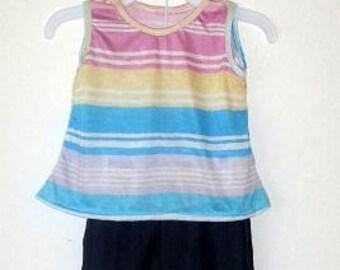 Stripe Denim Outfit