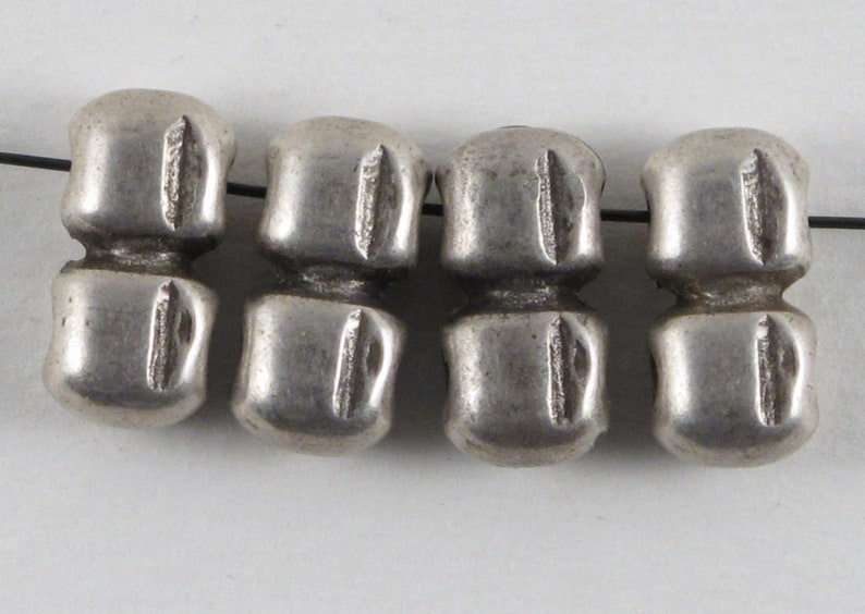 Antique Silver Spacer Beads Morocco  Rare Beads  Multi Strand  Jewelry Design  Findings