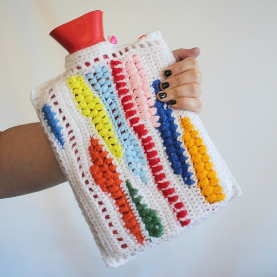 Toto Too Hot Water Bottle Cover Crochet Pattern Etsy