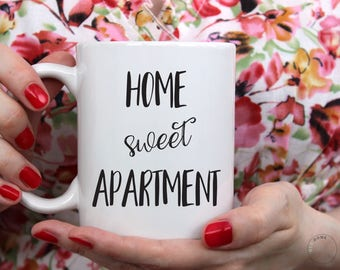 Home Sweet Apartment Mug | Home Sweet Apartment | Apartment Mug | Apartment Gift | Housewarming Gift | Apartment Decor | New Apartment Gift