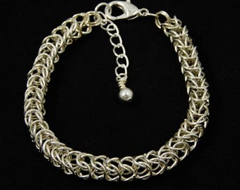 Beautiful Box Chain Chainmaille Bracelet