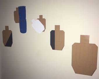Accelerator - USPSA Target Set