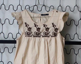 2461b1eacb1 Embroidered Baby Doll Dress