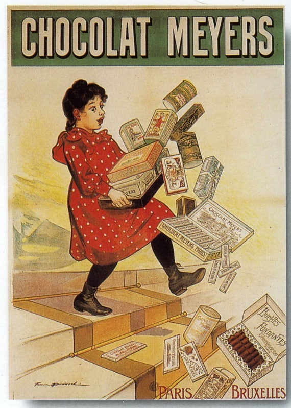 Vintage Poster Fine Art Print Banania