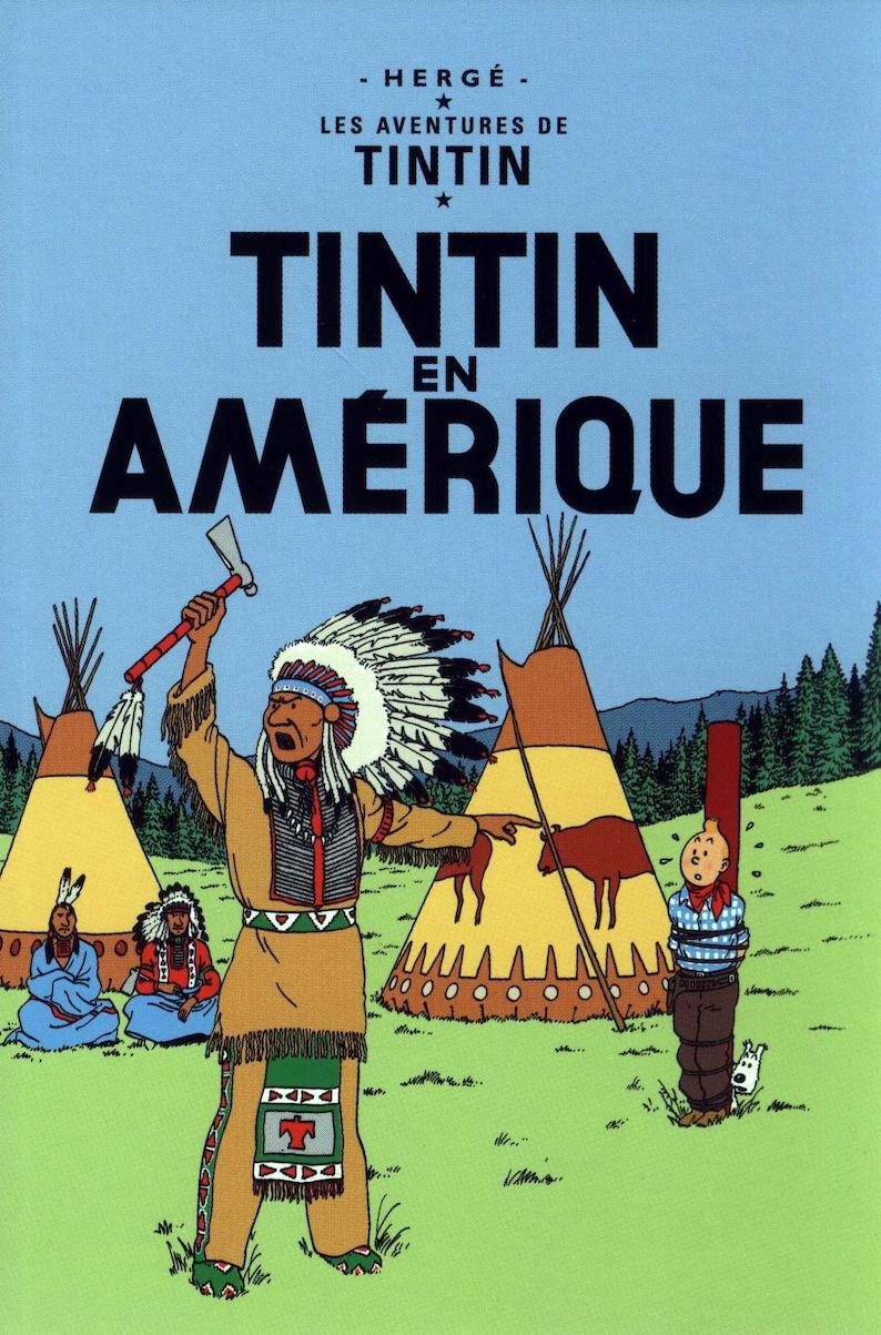 Kunstplakate Antiquitäten & Kunst Vintage Tintin Cigars Of The Pharoah Cover  Poster A3 Print