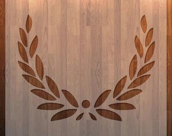 Leaf Border, Wreath, Frame,  Durable, Reusable