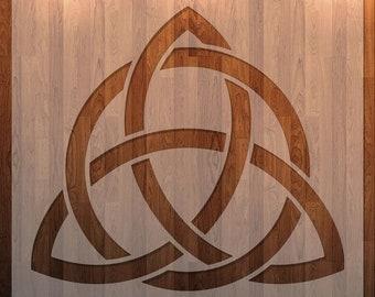 Celtic Knot, Stencil, Durable, Reusable *