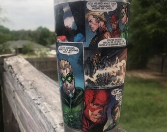 Superhero Tumbler