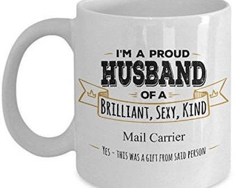 Gift For Mail Carrier Mug Gifts Husband Coffee MugBirthday GiftAnniversary Wife To