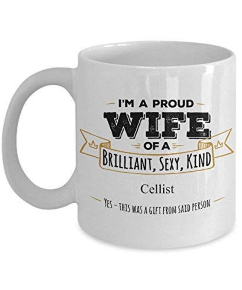 Gifts For Cellist Cellist Mug Cellist Gift Wife Coffee Mug Etsy