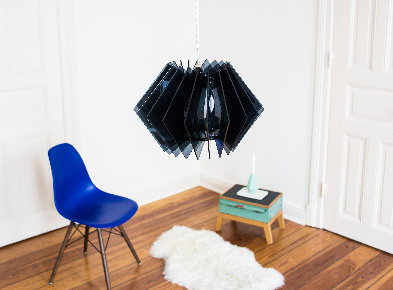 designer leuchte acrylglas leuchte farbige leuchte moderne etsy. Black Bedroom Furniture Sets. Home Design Ideas