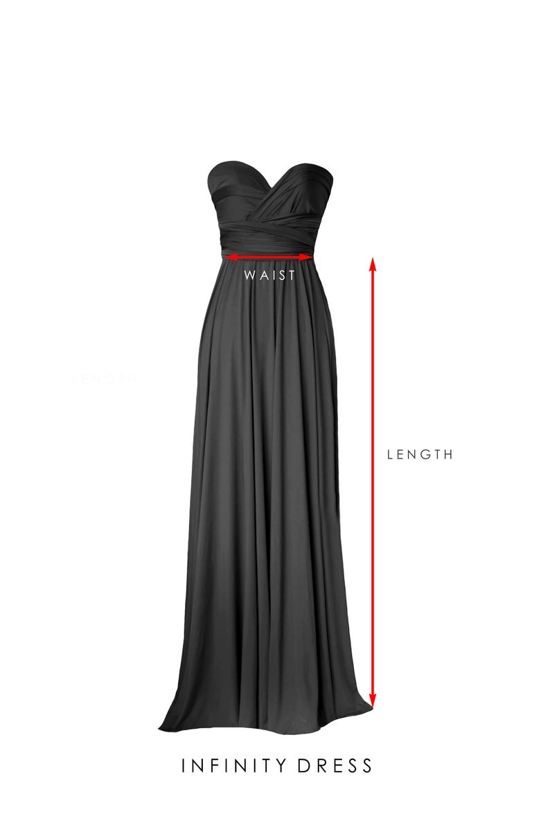 Regular /& Plus size BB Floor length Maxi Infinity Multiway Convertible Formal Prom Bridesmaid dress in Periwinkle