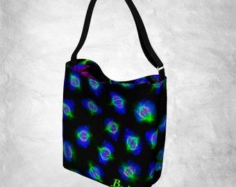 Cell Division Tote Bag (Beata Science Art, Fashion, Molecular Biology, Microscopy, Mitosis, DNA, STEM, Teacher, Gift, PhD)