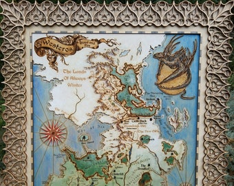 3d map of thrones   Etsy Seven Kingdoms Of Westeros Map on seven castles of westeros, seven kingdoms game thrones map, largest castles westeros, seven regions of westeros, seven kingdoms of essos, seven kingdoms game pc, the north westeros, oldtown westeros, seven kingdoms westeros map,
