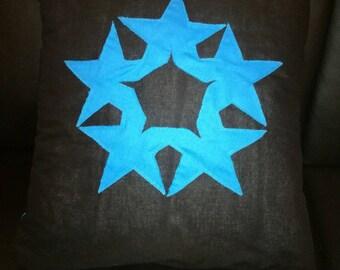 Black Star cushion