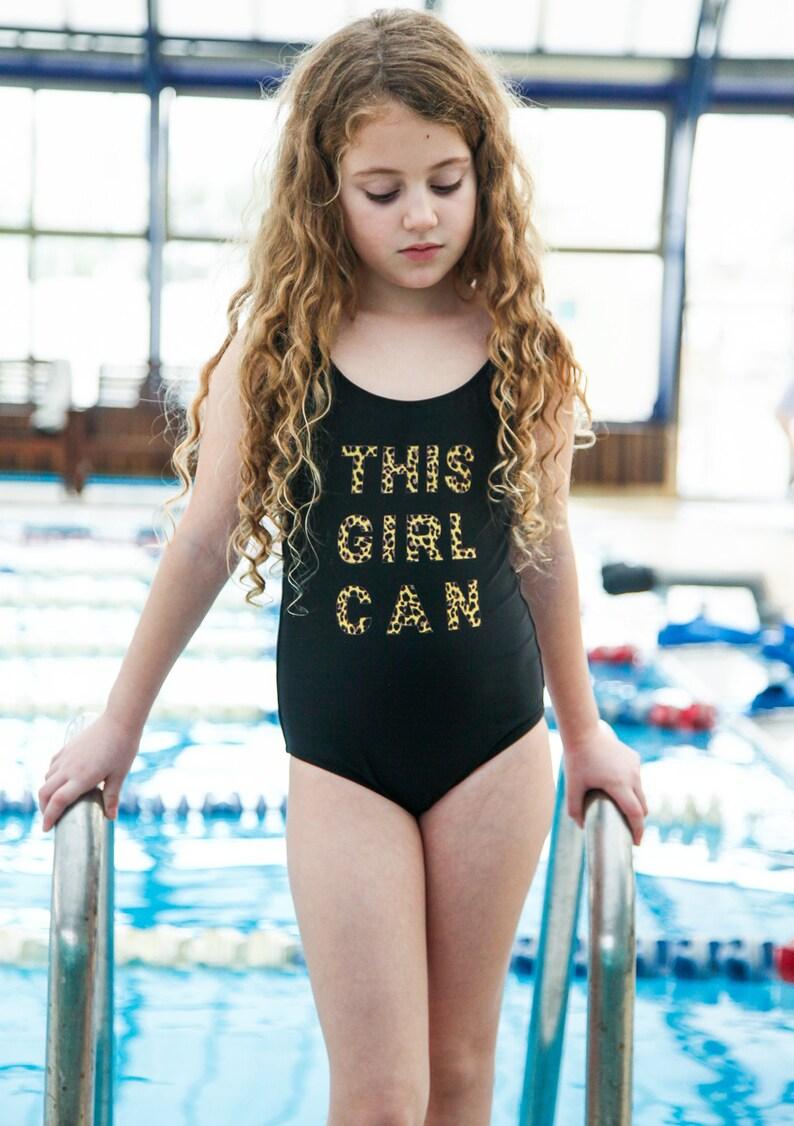f68b832ffc Girls swimsuit Kids One piece swimsuit Girls bathing suit | Etsy