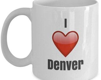 Denver Broncos Kaffeetasse Teetasse Tasse Becher Mug