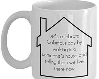 Columbus Coffee Mugs Etsy