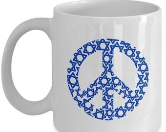 limited sale peace david starjewish coffee mug jewish mug jewish gifts jewish gift funny jewish mug christmas mug christmas gifts