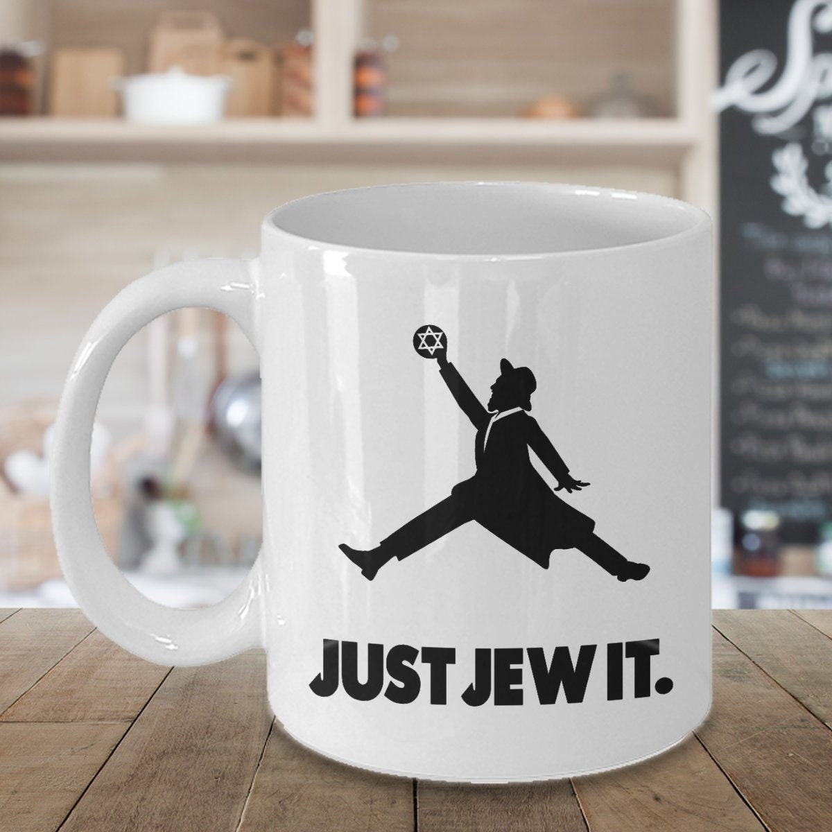 LIMITED SALE Just Jew It Jewish Coffee Mug funny jewish | Etsy