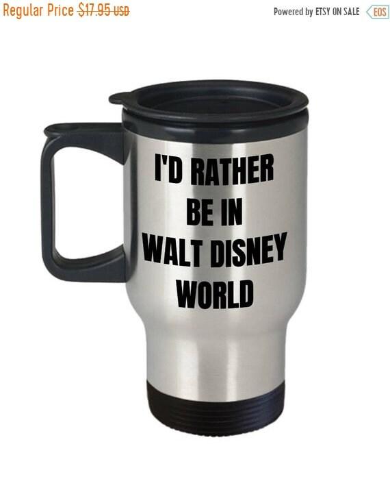 image 0  sc 1 st  Etsy & LIMITED SALE Walt Disney World Travel Mug Iu0027d Rather be | Etsy