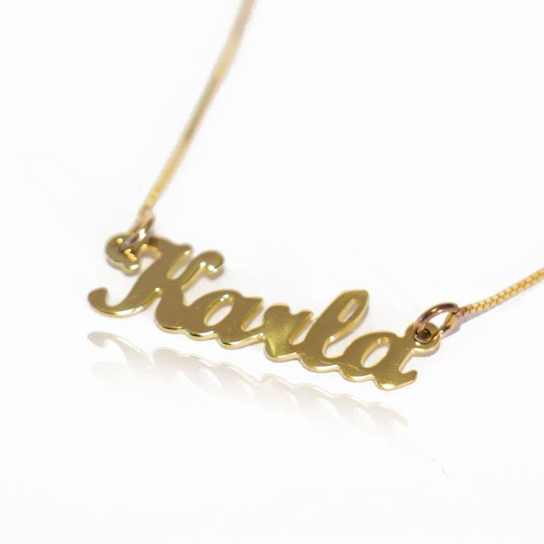 81dd81df0ed33 Custom Name Necklace My Name Necklace Name Chain Design Gold Plated Name  Chain Create Name Necklace Chain With Name Design