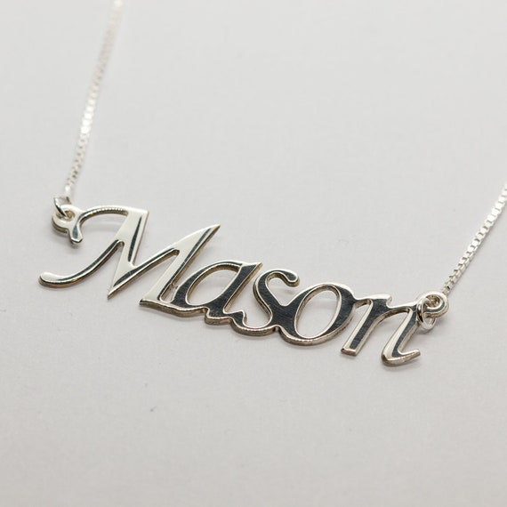 59ee9fe57e302 Personalized name pendant customized name pendant script name necklace for  guys name necklace for him