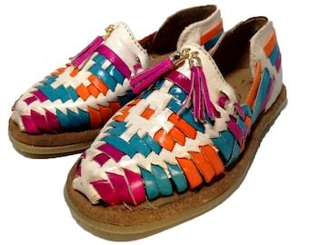 6a2cafa0ba1f0 Authentic Mexican Huarache Sandals. Mexican huaraches for Girl