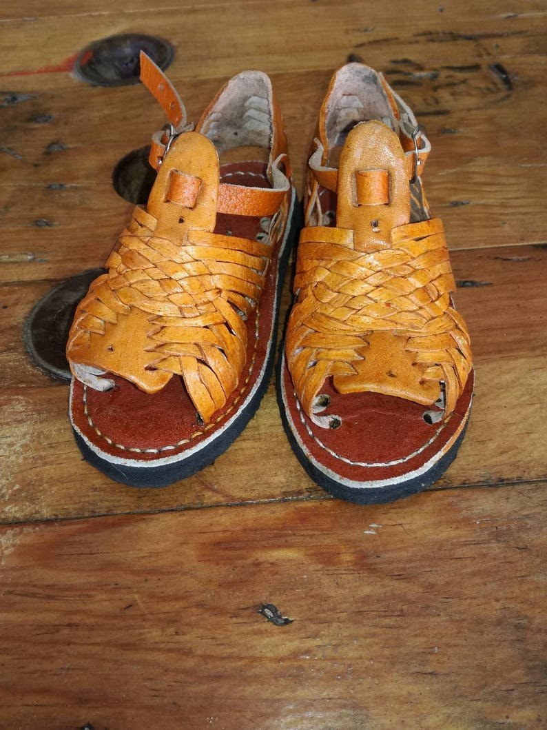 28fae0fd0fb072 Huaraches for children. Small Numbering. Mexican Sandal