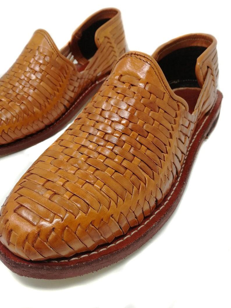 d541eab5655 Mens Huaraches Sandals Mexican. 100% leather vintage.