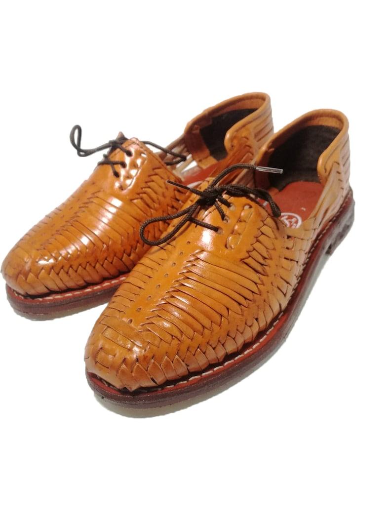 43e85e7414cb Mens Huaraches Sandals Mexican. 100% leather vintage.