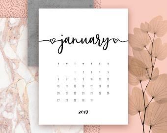 Image result for january 2019 printable calendar