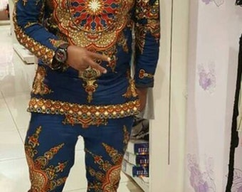 Kitenge Mens Outfit